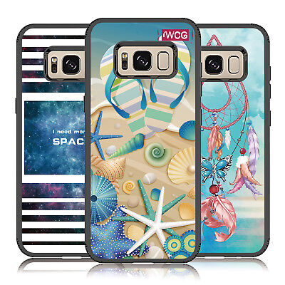 Hard PC Hybrid Rubber TPU Silicone Case Cover For Samsung Galaxy S8 Plus
