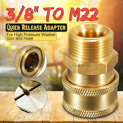 "Pressure Washer Quick Release 14.8mm Coupling Male 3/8"" Male Pro Pressure Washer"