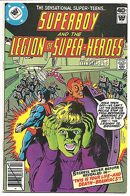 Superboy And The Legion Of Superheroes #256 Whitman Variant! Low Print Run!