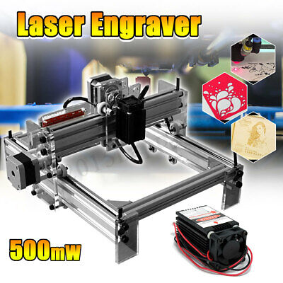 DIY Desktop Mini Laser Cutting/Engraving Machine 500mW Marking Printer Engraver
