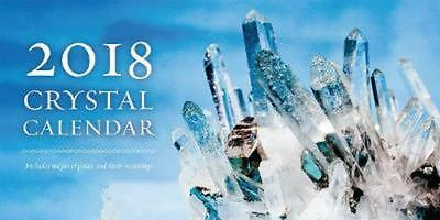2018 Crystal Calendar: Includes Major Crystals and Their Meanings by Rachelle Ch