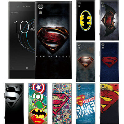 Captain America Superman Batman DC Comic Phone Case Cover For HTC Sony Xperia