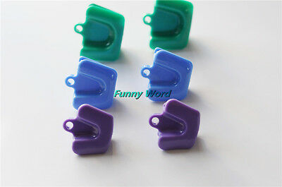 6Pc Dental Silicone Mouth Prop Bite Block Rubber Opener Retractor Latex Free Hot