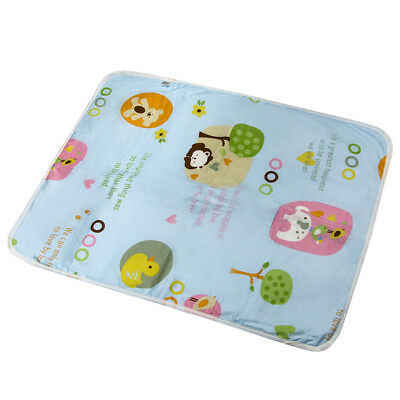 Bed Urine Pad 100% Natural Cotton Waterproof Children Adults Incontinence