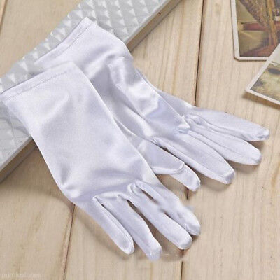 Women Wedding Party Dress Clothing  Accessories Bridal Dressing Short Gloves US