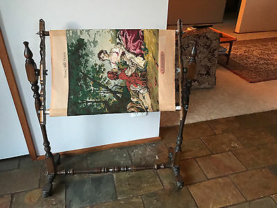 Vintage Free Standing Tapestry/craft/needlework Frame (Only)