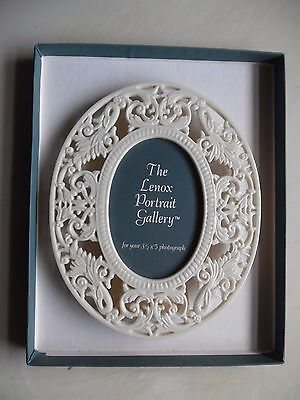Lenox China Renaissance Lace Porcelain Picture Frame New In Box White