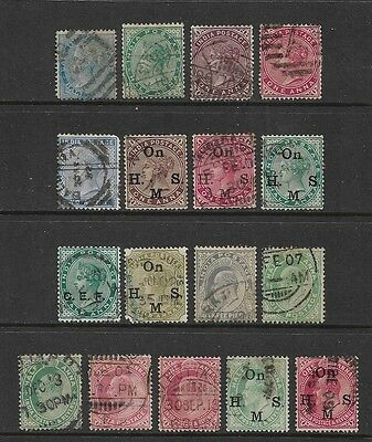 INDIA - 1860-1906 Queen Victoria QV, King Edward VII KEVII, No.4, incl opts