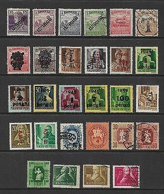 HUNGARY - mixed collection No.44, early, incl opts