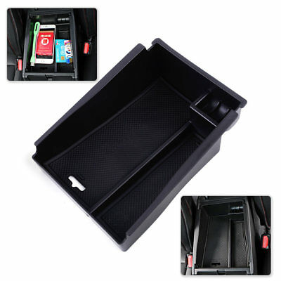 Center Console Armrest Storage Box Container Tray For Hyundai Tucson 2016 2017