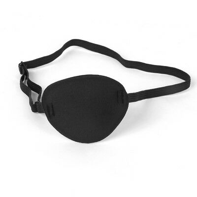 New Pirate Eye Patch Mask Eyeshade Cover Plain for Kids Adult Cosplay Black