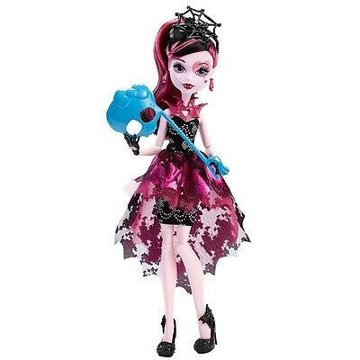 Monster High Welcome To Monster High Dance The Fright Away Draculaura Doll Dnx33