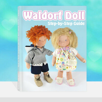 """Waldorf Doll 12"""" Step-by-Step eGuide"""