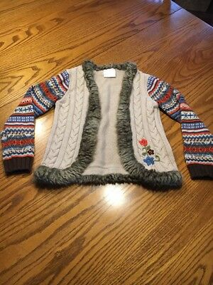 Hannah Anderson Girls Cardigan Size 120 US Size 6/7