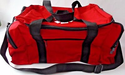 CLEARANCE - Large Red Medical/First Response - First Aid - Shoulder/Carry Bag