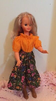 Vintage Growing Hair Doll