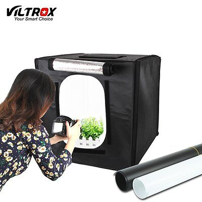 Viltrox 60*60cm LED Photo Studio Box Photography Shooting Light Tent Softbox