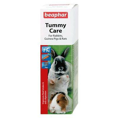 Beaphar Tummy Care Rabbit Guinea Pig Rat Digestion Aid Supplement Liquid 100ml