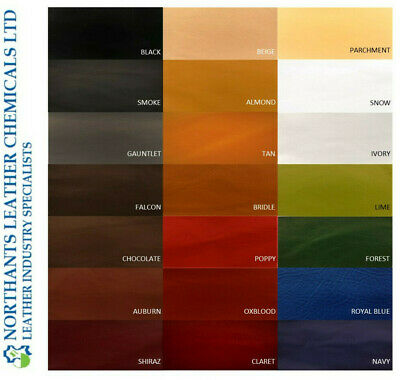 NORSOL Leather colourant, pigment paint recolour dye, Industry Std 120ml