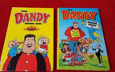 The Dandy Book 1991 and 1992