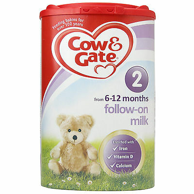 Cow and Gate Follow on Milk Powder from 6 Months Onwards Stage 2 900g Cow & Gate