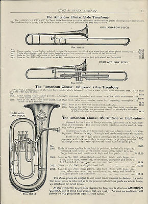 3 Historical Musical Instrument Catalogs Lyon & Healy Bruno Oliver Ditson on CD