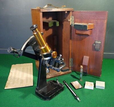Rare Antique Scientific Ernst Abbe Zeiss Refractor by Adam Hilger London.