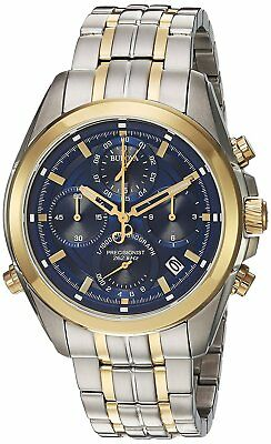 Bulova Corporation Mens Quartz Stainless Steel Casual WatchMulti Color