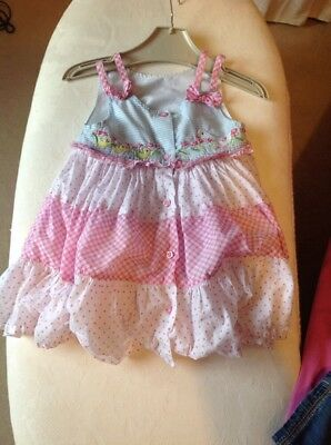 Beautiful girls 3-6 months dress by George