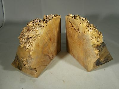 Wooden Bookends Natural And Beauitful