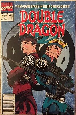 Double Dragon #1 (July 1991, Marvel)