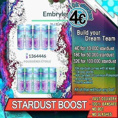 Stardust Boost x2 limited time - Equinox Event - Pokemon GO Services - No Bot