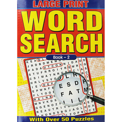 Large Print Wordsearch - Book 2 (Paperback), Non Fiction Books, Brand New