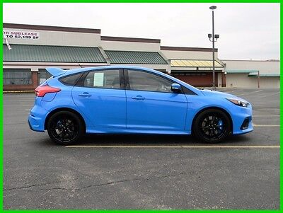 2017 Ford Focus RS Hatch 2017 Ford Focus RS Nitrous Blue AWD Premium