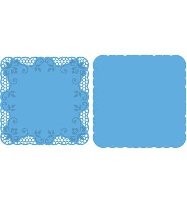 Marianne Design CREATABLES  Cutting /& Embossing Die HEARTS /& COTTON LACE  LR0413