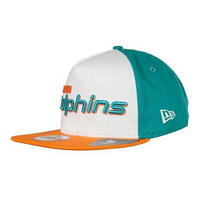 Miami Dolphins A-Frame NFL New Era 9FIFTY [950] Snapback Cap
