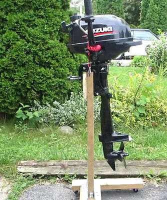 36lb Outboard Boat Small Motor Stand Carrier Cart Dolly