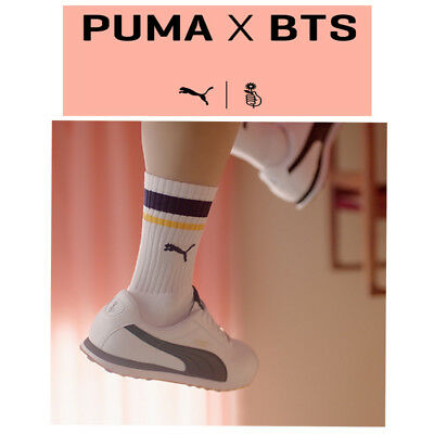 BTS - PUMA TURIN  MADE BY BTS  SHOES [LIMITED] + Photocard + Free Tracking No.