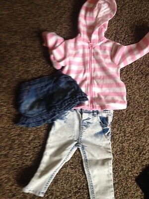9-12 Months Girls River Island Jeans Etc