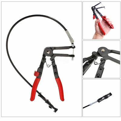 Flexible Wire Long Reach Clamp Pliers Car Replacement Tools Fuel Oil Water Hose
