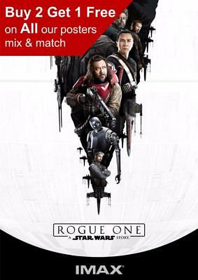Star Wars Rogue One Imax Poster A5 A4 A3 A2 A1