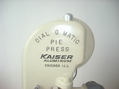 Dial O Matic Pie Press