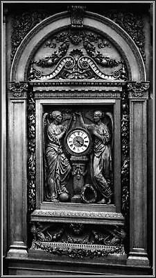 Photo: Titanic's Mahogany Clock In The Grand Staircase