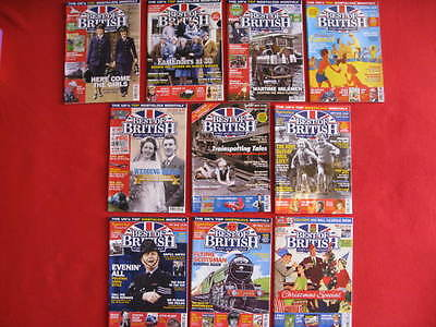Best of British Magazines. Past and Present x 10 From 2015