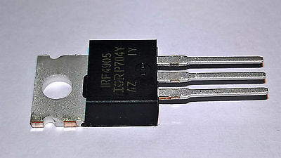 10 x IRF4905 P-Channel MOSFET 74A / 55 V