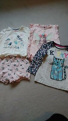 girls clothes bundle age 18-24 months