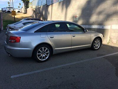 2005 Audi A6  2005 Audi A6 - Silver (Clean Title)  Fully Loaded with Sunroof