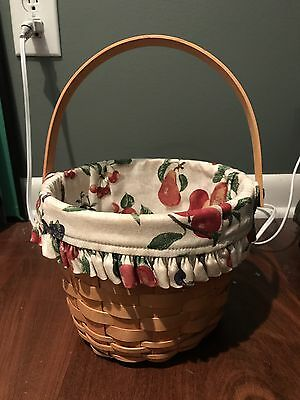 Longaberger basket, Small With Handle