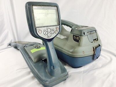 Radiodetection RD8000 SPX PXL TX-10 Cable Pipe Locator Transmitter w/ Receiver