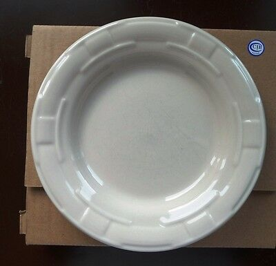 Longaberger Woven Traditions Bread Plate - Ivory